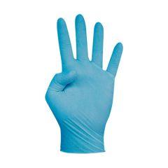 Guante Nitrilo Touch azul sin polvo